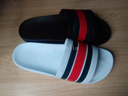 Wholesale Outdoor Slippers - Shop for new fashion mens Flat Rubber Slide Slippers summer outdoor beach flip flops size us7-11