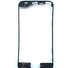 Wholesale 3m Glass - For iphone Glass LCD Display Bracket Middle Frame Housing Bezel with hot glue   3m adhesive Replacement For iphone 5 5s 5c 6 6Plus