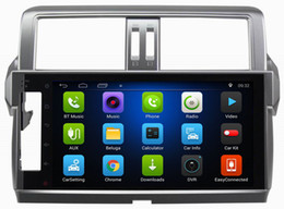 Wholesale Gps Navigation Systems For Toyota - Ouchuangbo HD 1080P gps navigation car audio for Toyota Prado 2014 support 3G WIFI android 6.0 system