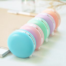 Les gommes mignonnes des enfants à vendre-Grossiste-Cute Kawaii Macaron Candy Correction De Couleur Ruban Eraser School Fournitures De Bureau Etudiant Papeterie Kids Gift
