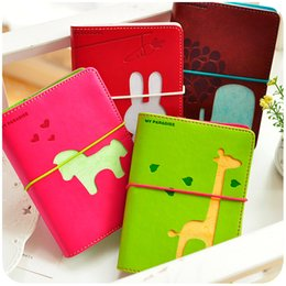 Wholesale Mini Cute Note Book - Wholesale- notebook personal diary notepad South Korea stationery creative travel note book children's lovely mini diary personal diary