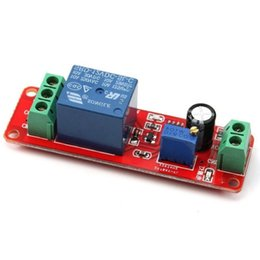 Wholesale Dc Delay - Wholesale-new DC 12V Delay relay shield NE555 Timer Switch Adjustable Module 0 to 10 Second