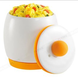 Wholesale Microwave Eggs - Ceramic Microwave Egg Cooker Tastic and Poacher for Fast and Fluffy Eggs Pot