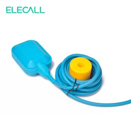 Wholesale High Water Switch - Wholesale- New Arrival 10M Controller Float Switch High-Temperature Silicone Wire Liquid Fluid Water Level Float Switch Contactor Sensor