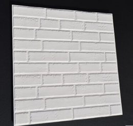 60x60cm 3d flexiable brique autocollant brique papier peint autocollant maison mur autocollant décoratif ? partir de fabricateur