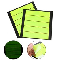 reflective bike decals Promo Codes - Green Outdoor Safety Reflective Sticker Baby Self Adhesive Warning Reflector Decal Film Strip for Bike Cycling Motorcycle Car