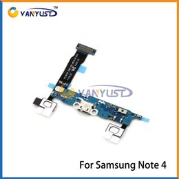 Wholesale Galaxy Note Flex Cable - High quality Charging Port Flex Cable USB Dock Connector For Samsung Galaxy Note 4 SM-N910F N910V N910A N910G N910P N910T
