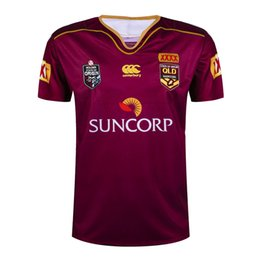 Wholesale QLD MAROONS STATE OF ORIGIN MEN S JERSEY