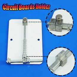Wholesale Pcb Holders - Wholesale- New PCB Circuit Board Holder For Mobile Phone PDA MP3 Repair Tool Fixture Metal TL-108