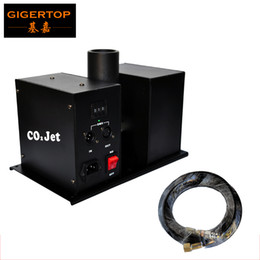 Wholesale jet fog - Co2 Wing Jet Machine Controlled by DMX512 2Channels 90V-240V Power New Designed Wing Stage Effect Lights Fog Machine With Hose