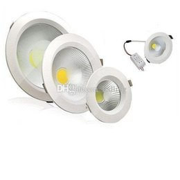 Wholesale 24v 25w - LED 9W 12W 15W 18W 25W Dimmable COB Led Downlights High Brightness Cool Warm White Led Recessed Ceiling Light+CE ROHS