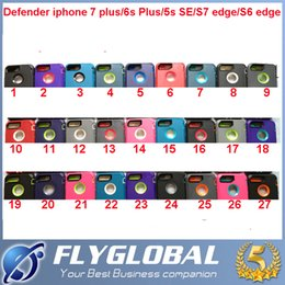 Wholesale Iphone 5s Belt - For i7 Robot 3 in 1 Defender Case Rugged hybrid Cases For iphone X 8 7 6s 5s plus samsung S8 Plus S7 with Belt Clip retail package Free DHL