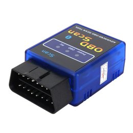 Wholesale Android Advance - ELM327 Scan V2.1 Advanced OBD2 Bluetooth Works Android Vehicle Detector Diagnostic Instrument Scan Car Diagnostic Tool