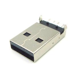 50 шт. / Лот SMD USB Мужской Тип USB Разъем Бесконечный Плоский Новый Оригинальный Бесплатная Доставка от Поставщики подставка для держателя палец кольцо
