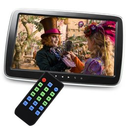 Wholesale Touch Screen Headrest Monitors - Car 1017E 9 inch 10 inch 800 x 480 External Headrest Monitors Digital Touch Screen MP5 MP4 MP3 Player Amplifier HiFi Stereo 186455001
