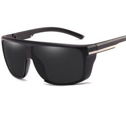 Wholesale Fashion Drivers - Fashion Cool Sunglasses Men Luxury Brand Retro Big Sunglass Driver Goggles Square Clear Sun Glasses For Women UV400L121