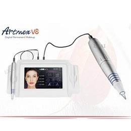 Wholesale Tattoo Machine Sales - 2017 Newest High Quality Professional Lip and Eyebrows Permanent Makeup Digital Tattoo Machine for Permanent Makeup for Sale