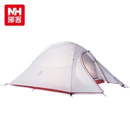 Wholesale Professional Construction - Wholesale- NH cloud still 2 Professional double bunk ultralight four seasons outdoor tent camping