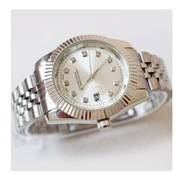Wholesale Solid Gold Wrist Watches - 2017 new top 40 mm male wrist watch brand AAA quality precise positioning of a fully functional watch quartz solid steel belt movement