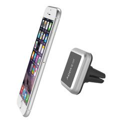 Wholesale Tablet Cradle - Wholesale- car Universal Air Vent Magnetic Car Mount Holder Cradle for Smart Phones and Mini Tablets