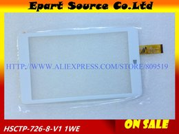 compresse chuwi Sconti All'ingrosso-A + nero / bianco da 8 pollici Tablet PC touch screen capacitivo HSCTP-726-8-V1 Pannello in vetro per Chuwi HI8