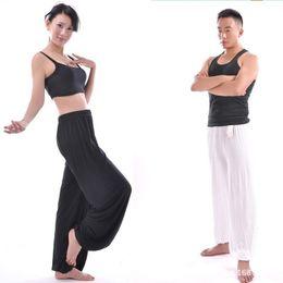 Wholesale Harem Pants Women Pattern - Wholesale- 2017 Harem Dance Baggy Trousers Slacks Men Pants Man woman