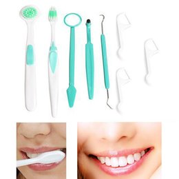 Wholesale Dental Care Tooth Brush Kit - 8 Piece Oral clean tools Dental Care Tooth Brush oral hygiene Oral care dental hygiene Kit