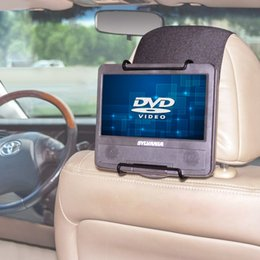 Wholesale Universal Dvd Headrest Mount - paper TFY Universal Car Headrest Mount for 7 -10 inch Portable DVD Player holder paper