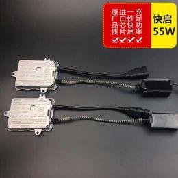 Wholesale Ballast For Lamp - Digital AC 55W HID Ballast 1 second quick start for HID Xenon Conversion Kit auto lamp car headlight bulb free shipping