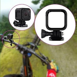 Wholesale Gopro Side Mount - Wholesale-Camera Standard Side Frame Housing Cover Support Mount for GoPro Hero Session 4