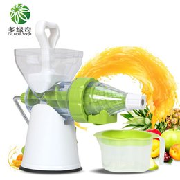 Wholesale High Quality Juicers - High Quality 100% Healthy Natural Fruit Juice Easy To Operate Ice Cream Mold Home Manual Juicer Fruit Squeezer