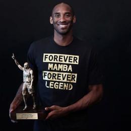 2020 short de basket kobe 2017 Nouveau Mode Kobe Bryant Noir coton Mamba coton T-shirt à manches courtes pour le basket-ball Tee Shirts Manches courtes T-shirt de l'homme promotion short de basket kobe