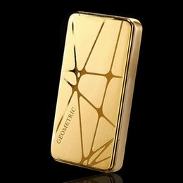 Wholesale Wholesale Electronics Clothing - Wholesale- USB electronic cigarette lighter smoker car key portable rechargeable gold lighter wholesale hot zincok phone home sexy clothes