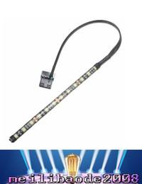 2019 led-streifen computer 4 Farben 4 Pin 5050 12 LED Light Neon Adhensive Strip wasserdichte staubdichte Computer Fall flexible Streifenlampe DC12V LED MYY günstig led-streifen computer