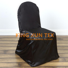 Wholesale Chair Ties For Sale - Hot Sale Satin Universal Self Tie Chair Cover \ Cheap Wedding Chair Cover For Banquet Event Decoration Free Shipping