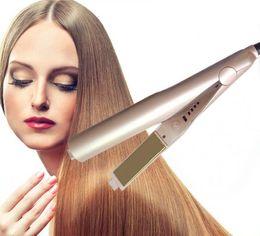 Wholesale Dhl Hair Straightener - free DHL high quality hair straightener brush comb hair Iron electric straightening irons