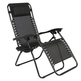Wholesale Antique Beach Chair - Zero Gravity Chairs Case Of (2) Black Lounge Patio Chairs Outdoor Yard Beach New