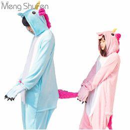 Wholesale One Piece Shirts For Women - One piece Panda Unisex Unicorn Tenma Pajamas Sets Animal Costume Anime Cosplay Sleepwear Party Costume For Men Women Adults