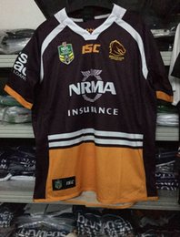 Wholesale Broncos Jersey Xl Manning - NRL National Rugby League Brisbane Home red Rugby jersey broncos best quality New in stock 2017 rugby shirts size S - 3XL