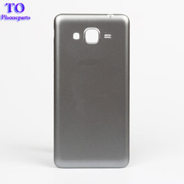 Wholesale Gt Mobile Wholesalers - For Samsung Galaxy Grand Prime G530 Cover Case Mobile Phone Accessories GT-G530 Battery Housing Rear Case Gray White Golden
