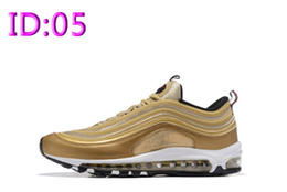 Wholesale Wholesale Running Sneakers - 2017 Wholesale Mens air sports 97 running shoes,Famous athletic Walking training sporting basketball shoes sneakers size 40-46