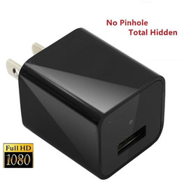 Wholesale Camera Travel Charger - Hot 32GB HD 1080P Spy Travel USB Adapter Camera USB Wall Plug Charger Hidden Pinhole Camera Video Recorder For Nanny Cam Security DVR