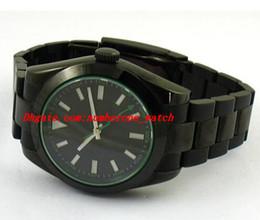 Wholesale Watch Pvd Movement - Luxury Watches Wristwatch Fashion watch 40MM PVD Case Ceramic Bezel Automatic Mechanical Movement Watch Sapphire Men's Wrist Watches