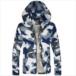 Wholesale Nylon Zipper Manufacturers - Wholesale- New Arrivals Hoodies Men 2016 Manufacturer Camouflage Jackets Men Top New Brand Jacket Men Zipper Casual Fitness WY007