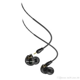 Wholesale Grade Noise Cancelling - 2016 First Grade Audio M6 PRO Earphones Noise-Isolating Hifi In-Ear Earphone Monitors Earphones With Detachable Cables A