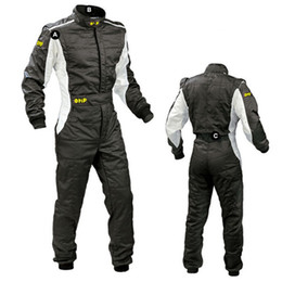 Wholesale Men Exercise Clothes - New Arrival 2017 OMP Karting Suit Car Motorcycle Racing Club Exercise Clothing Overalls Stig Suit Two Layer Waterproof