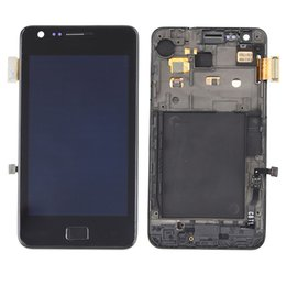 Wholesale Digitizer For Galaxy S2 - New For Samsung Galaxy S2 i9100 i9108 i919 i929 i9190 LCD Digitizer Assembly white black color original lcd with free repairing tools