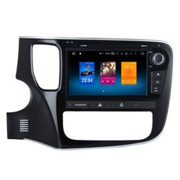 2019 charutos chineses Octa Cor Android 6.0 Sistema de Multimídia Carro DVD Para Mitsubishi Outlander 2013 + Com 2G RAM 32G ROM Espelho Tela WIFI 4G BT 4.0 OBD DVR SWC