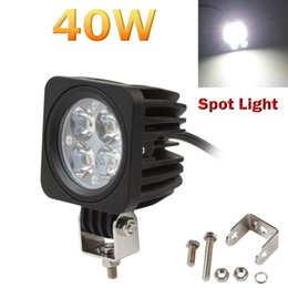 Wholesale Led Driving Lights For Cars - 40W Car LED Light Offroad Work Light for ATV Truck SUV Driving Lamp Motorcycle Fog Light CLT_41O