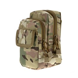 Wholesale Nylon Key Pouch - X2 Multi-use Camouflage Waist Bag Molle Pouch Phone Coins Key Pack Hunting Hiking Camping Outdoor Sports